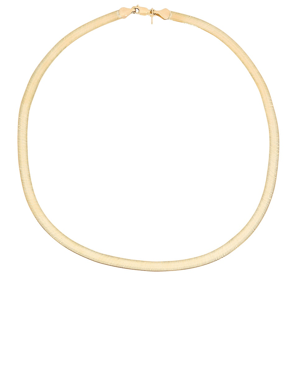 Image 1 of Loren Stewart Jersey Necklace in Yellow Gold