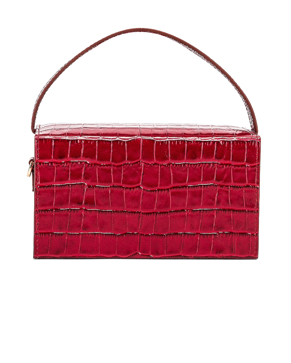 Image 3 of L'Afshar Small Ida in Red With Gold Deco Chain