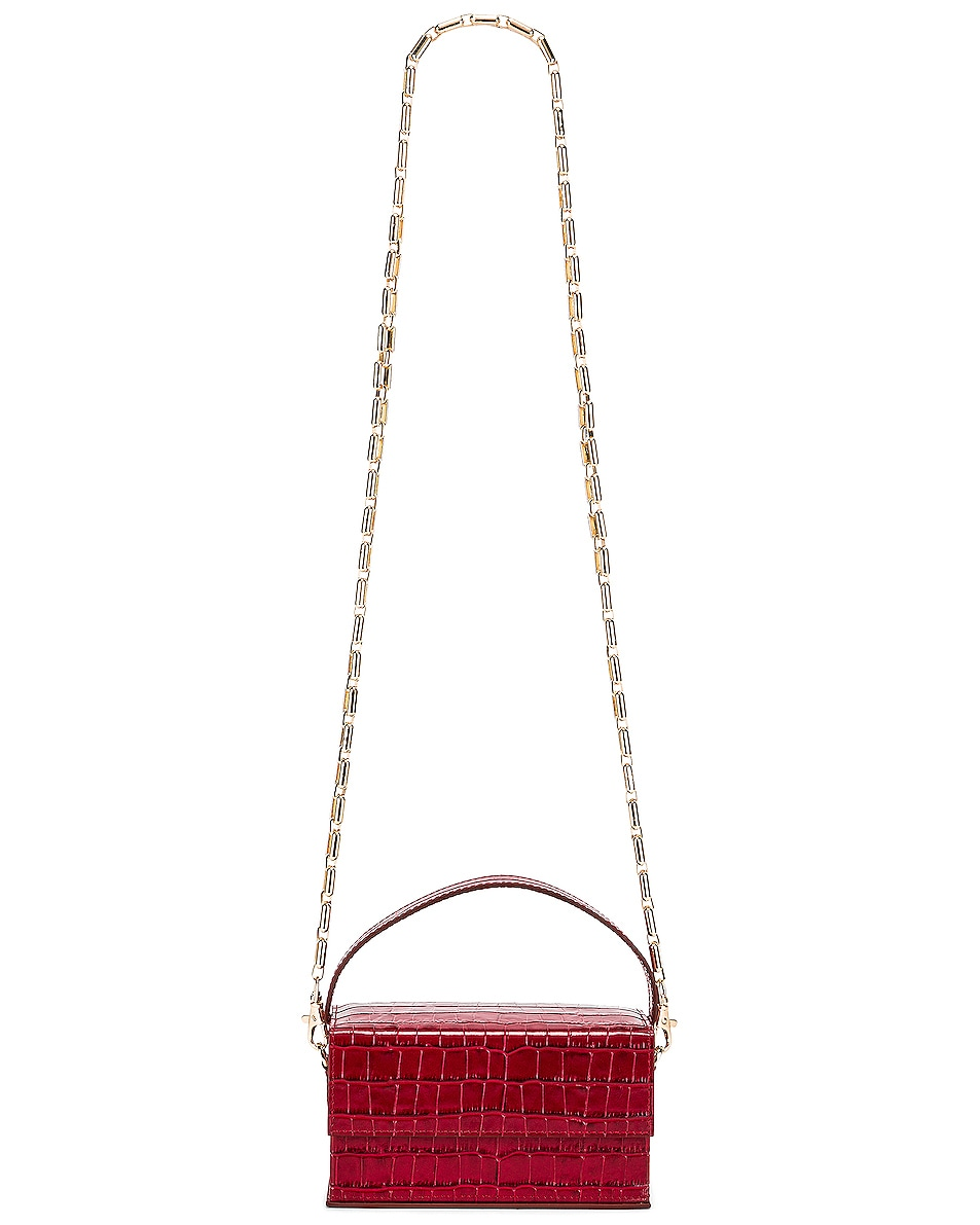 Image 6 of L'Afshar Small Ida in Red With Gold Deco Chain