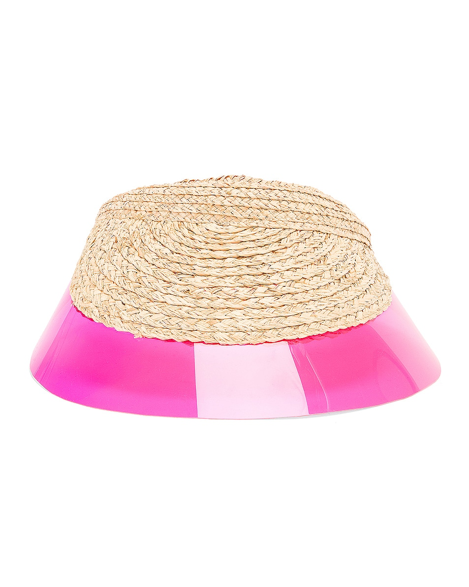Image 1 of Lola Hats Billiard Visor in Pink