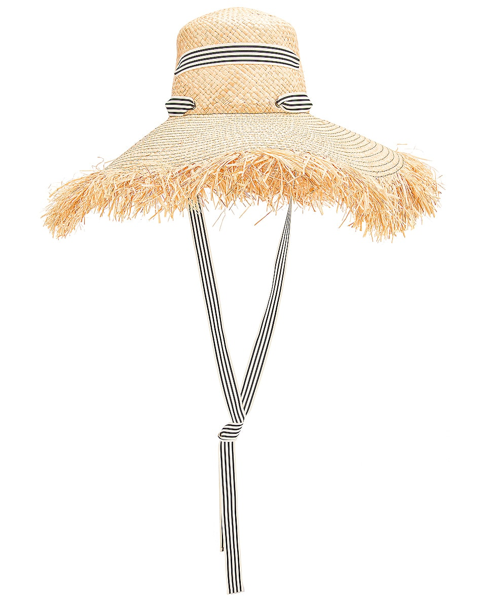 Image 2 of Lola Hats for FWRD Alpargatas Bis Hat in Black & White