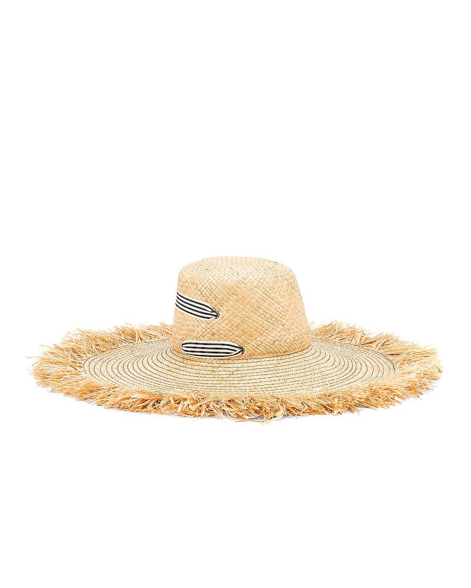 Image 3 of Lola Hats for FWRD Alpargatas Bis Hat in Black & White