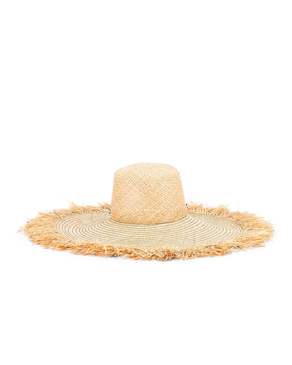 Image 4 of Lola Hats for FWRD Alpargatas Bis Hat in Black & White