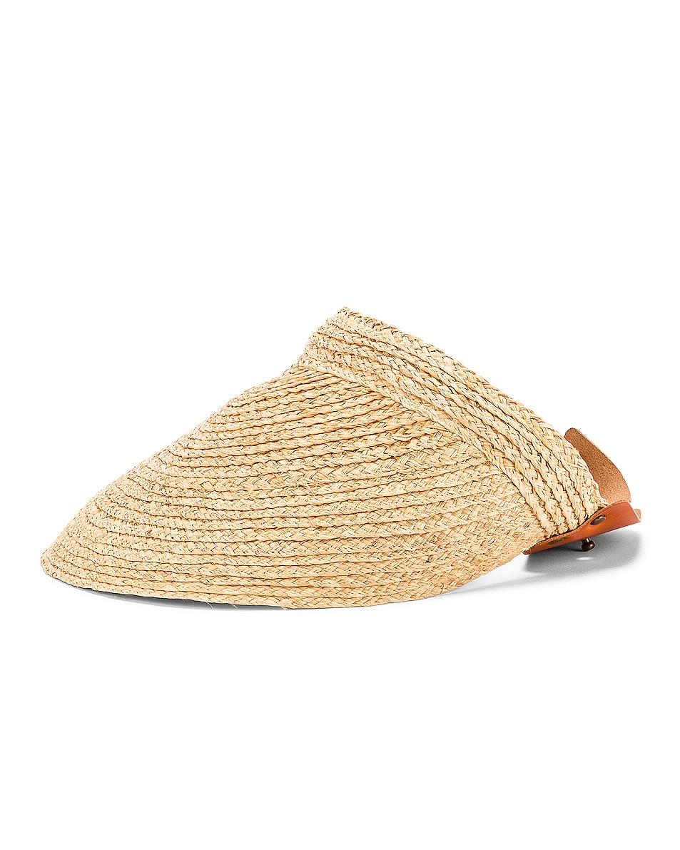 Image 1 of Lola Hats Marquee Visor in Natural