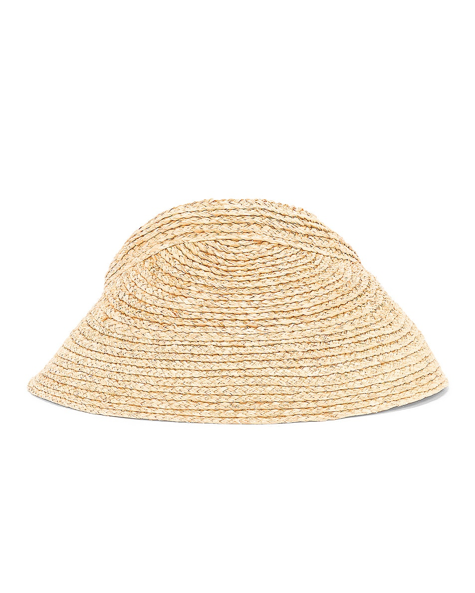 Image 2 of Lola Hats Marquee Visor in Natural