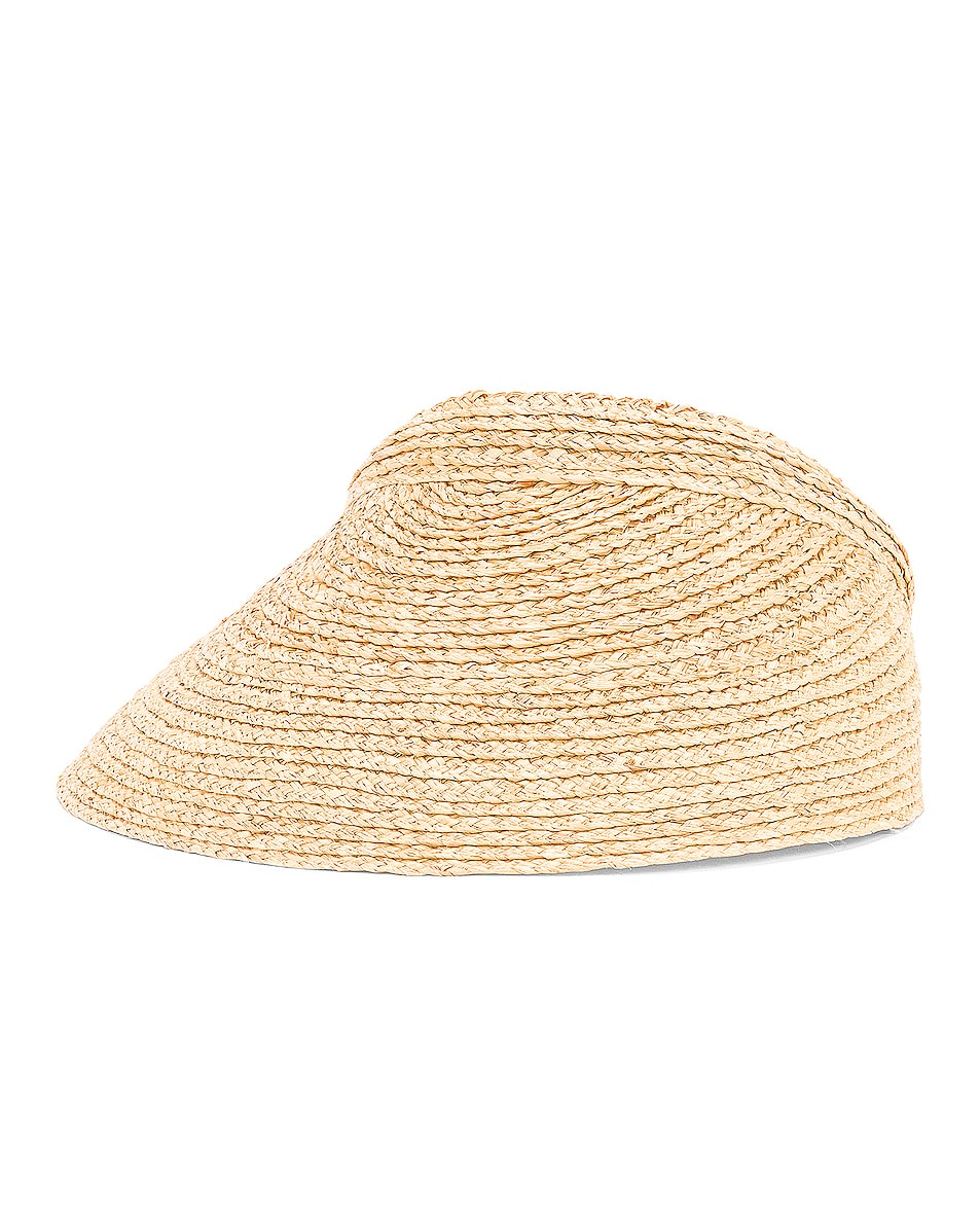 Image 3 of Lola Hats Marquee Visor in Natural