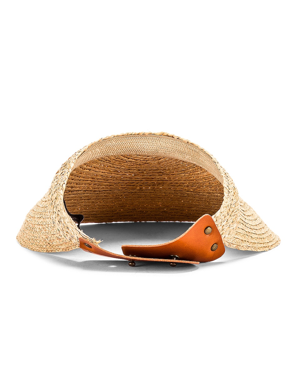 Image 4 of Lola Hats Marquee Visor in Natural