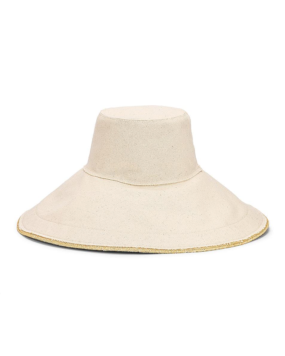 Image 1 of Lola Hats Single Take Hat in Natural & Natural