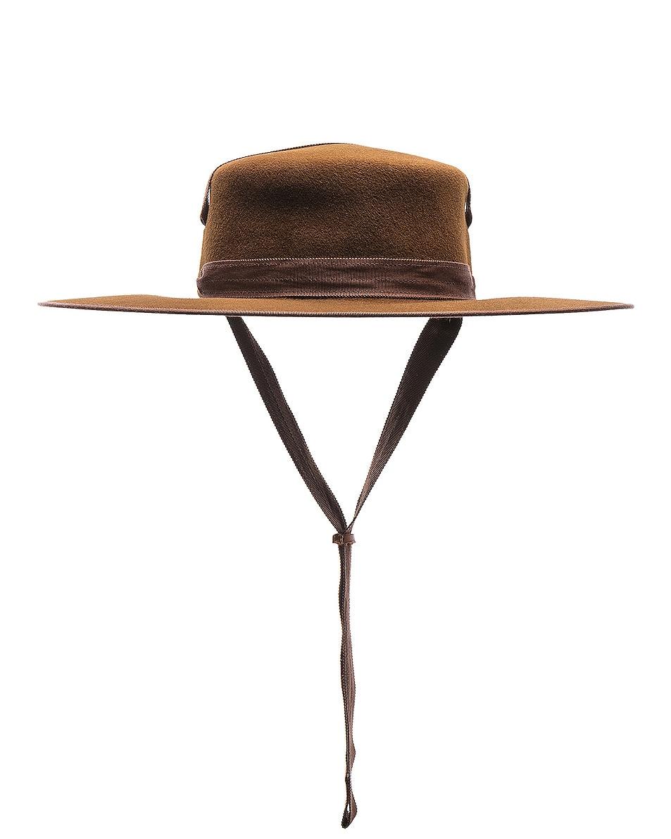 Image 1 of Lola Hats Winter Zorro Hat in Cinnamon