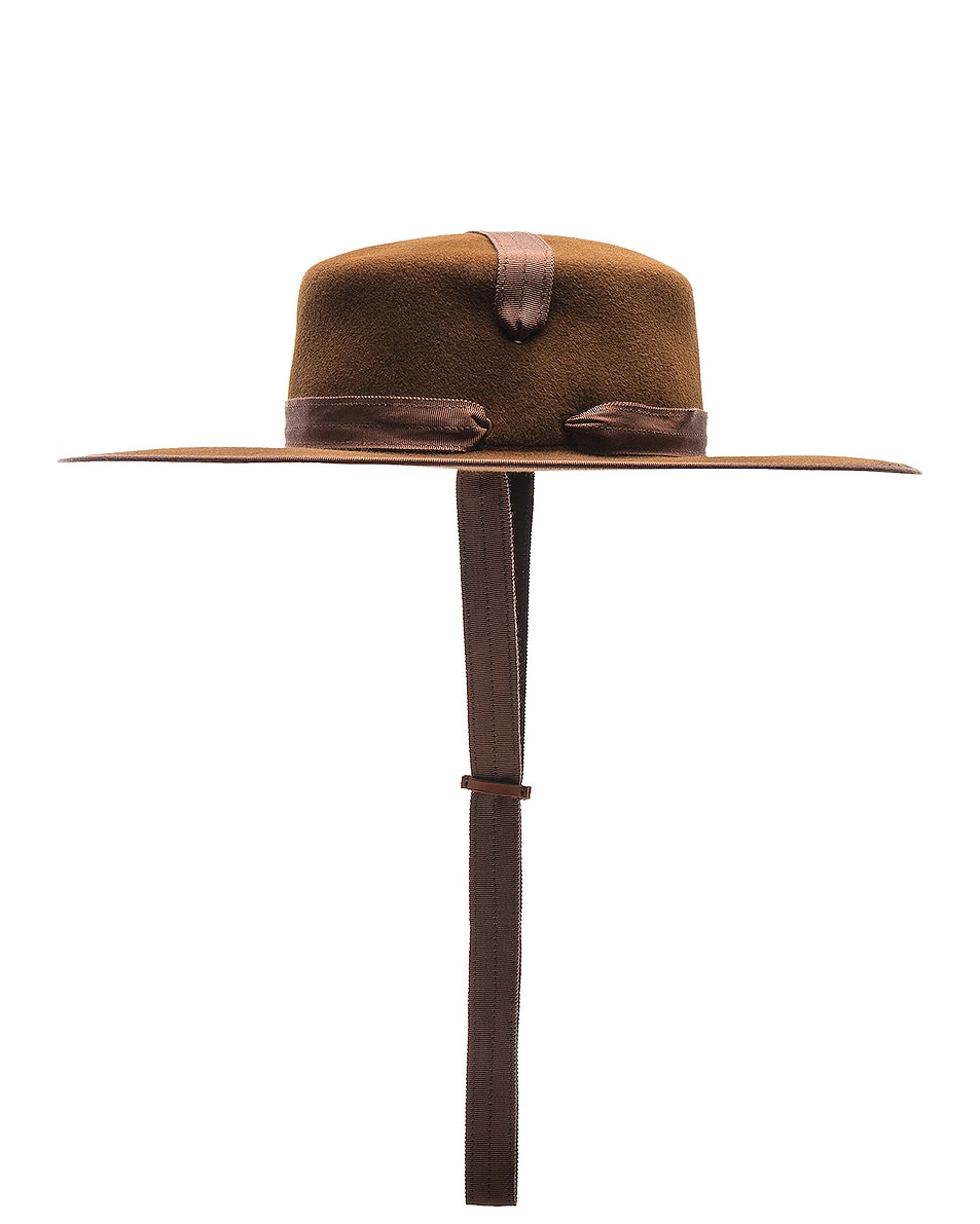 Image 3 of Lola Hats Winter Zorro Hat in Cinnamon