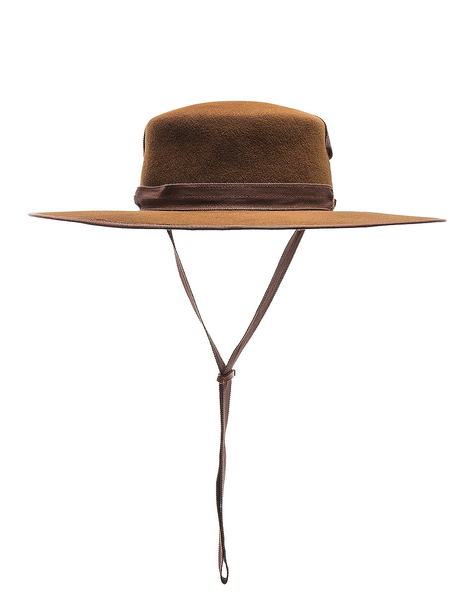 Image 4 of Lola Hats Winter Zorro Hat in Cinnamon