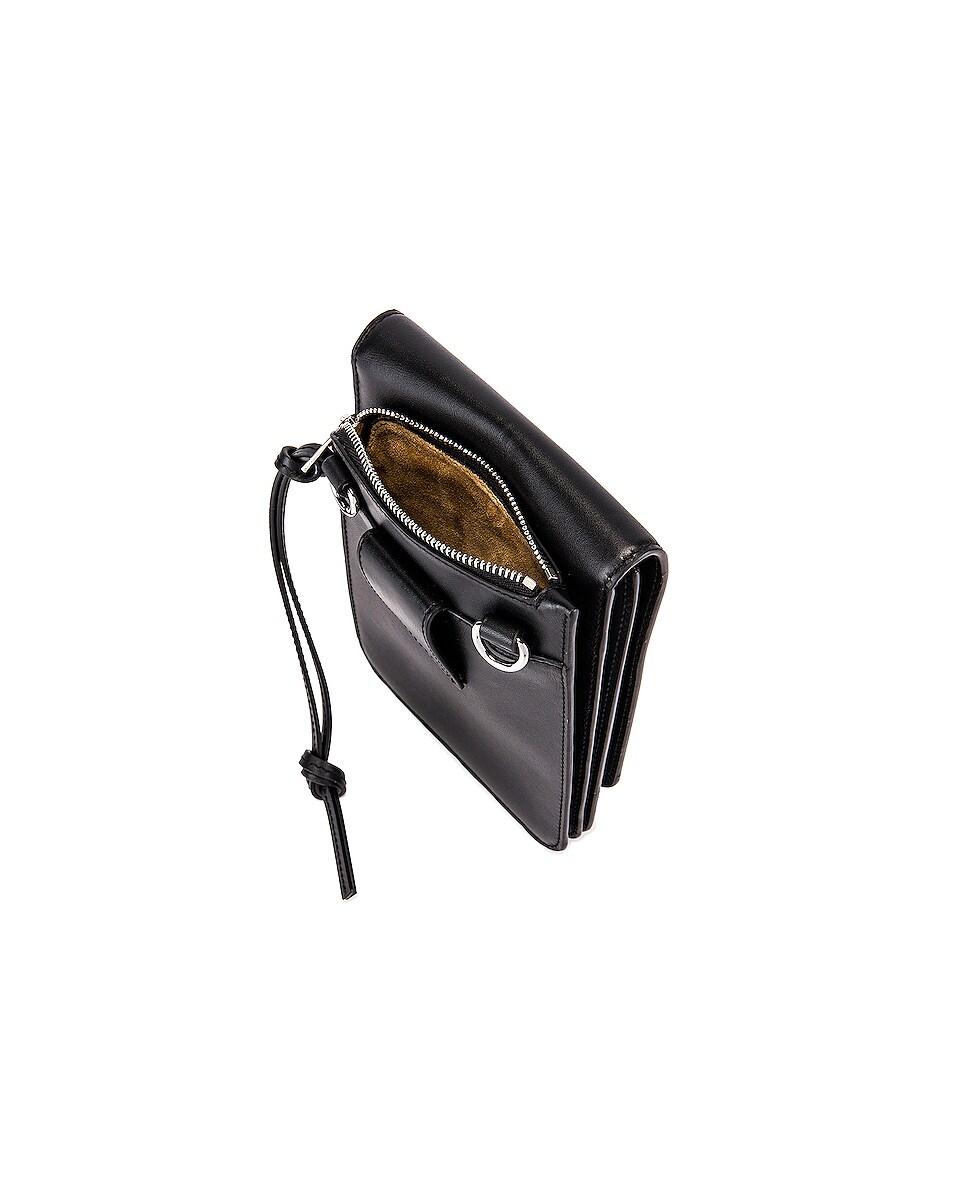 Image 5 of Loewe Gusset Flat Crossbody Bag in Black