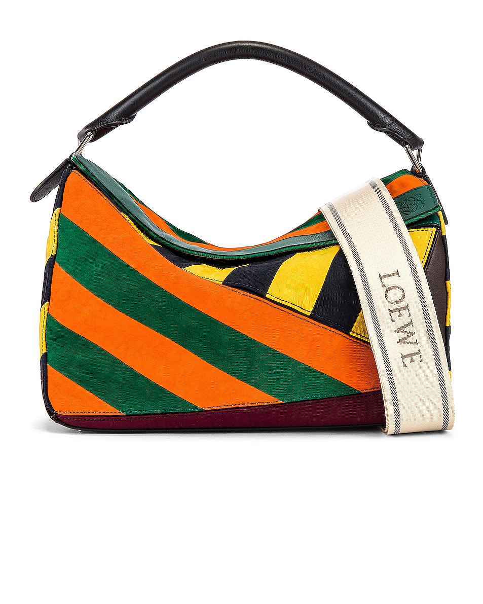 Image 1 of Loewe Puzzle Rugby Large Bag in Multi