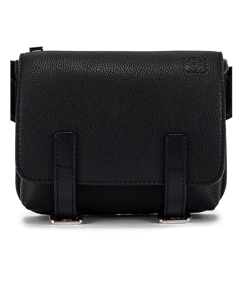 Image 1 of Loewe Military Bum Bag in Black