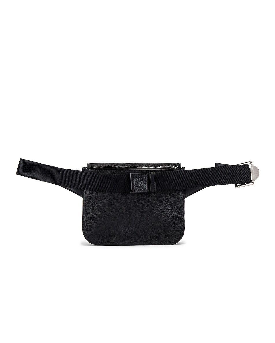 Image 2 of Loewe Military Bum Bag in Black