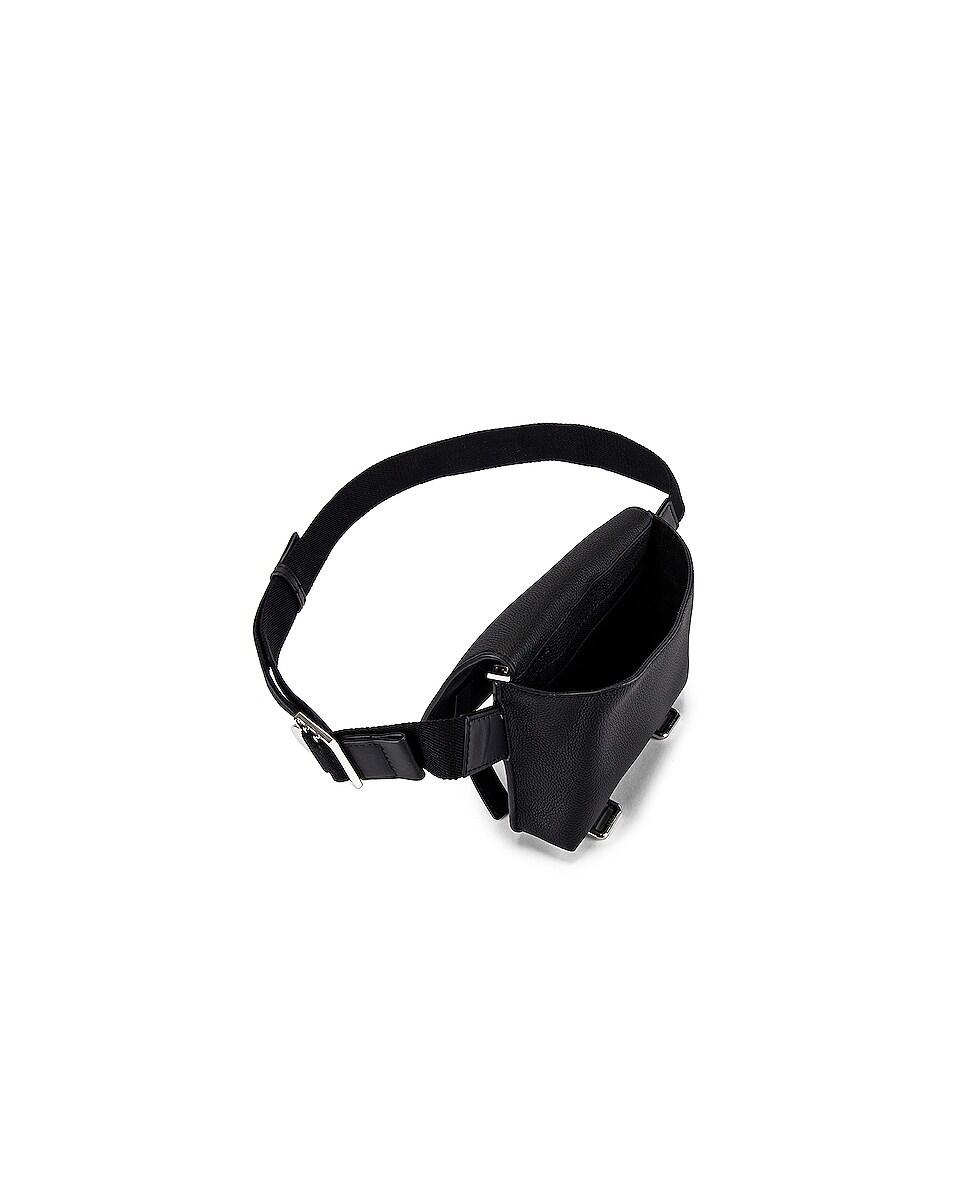 Image 4 of Loewe Military Bum Bag in Black