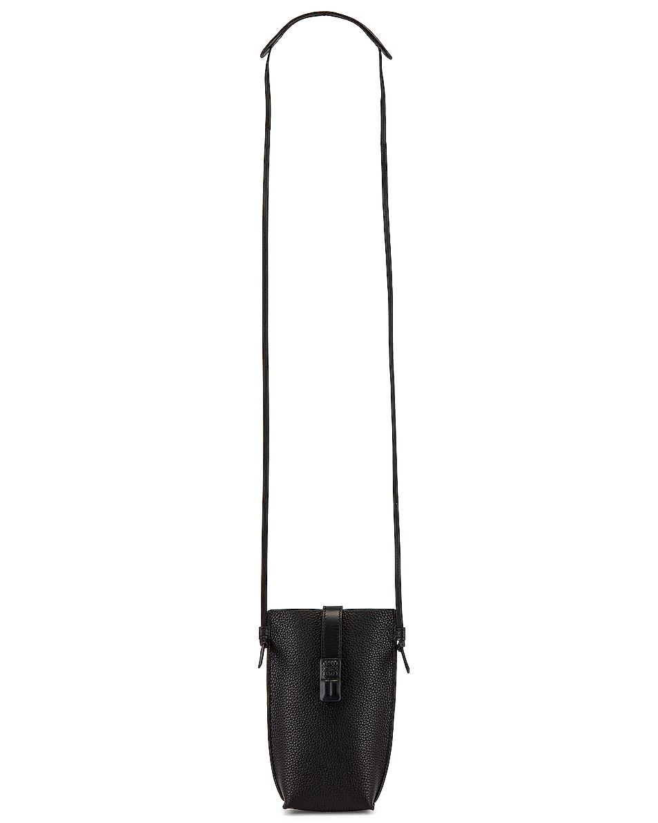 Image 1 of Loewe Pocket Pouch in Black