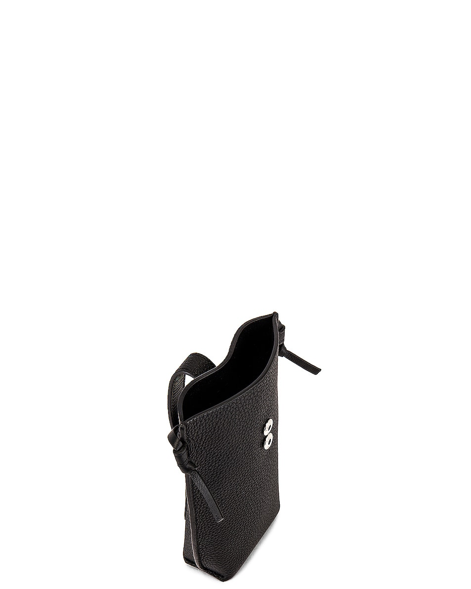 Image 4 of Loewe Pocket Pouch in Black