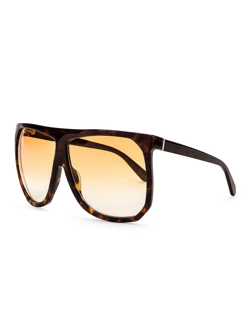 Image 2 of Loewe Big Acetate Sunglasses in Brown