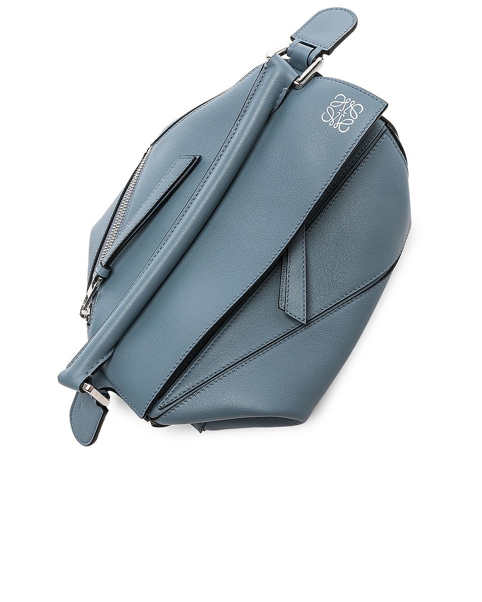Image 7 of Loewe Puzzle Small Bag in Stone Blue
