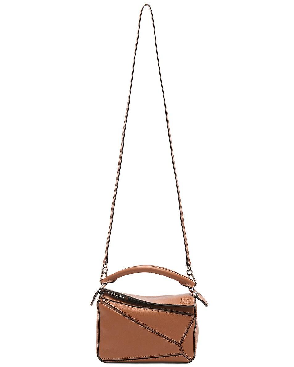 Image 6 of Loewe Puzzle Mini Bag in Tan