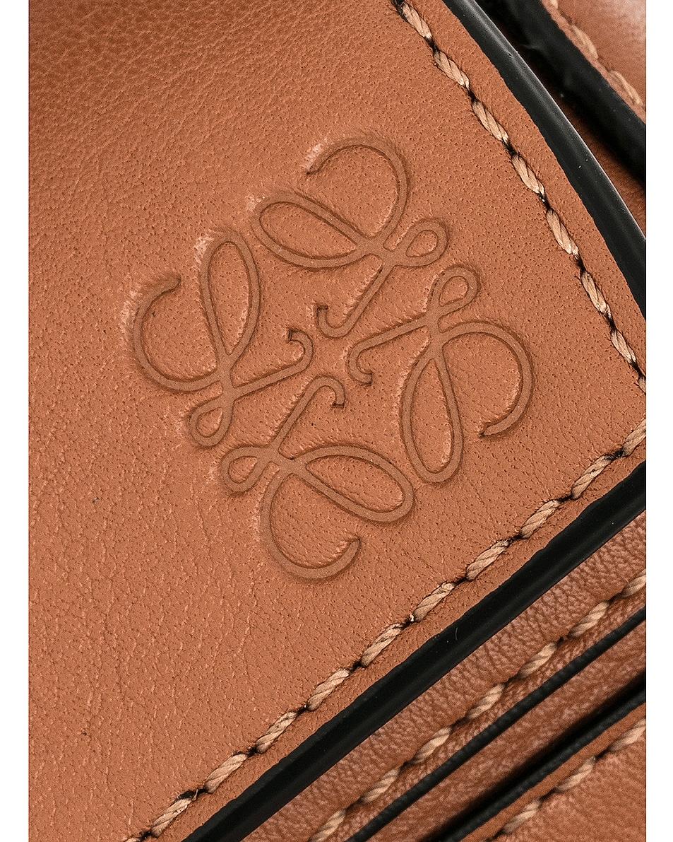 Image 8 of Loewe Puzzle Mini Bag in Tan