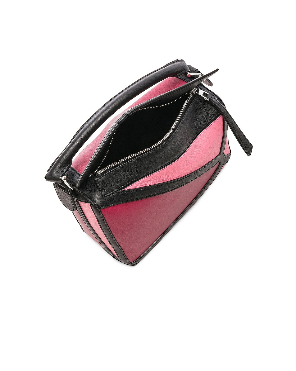 Image 5 of Loewe Puzzle Graphic Small in Raspberry & Wild Rose