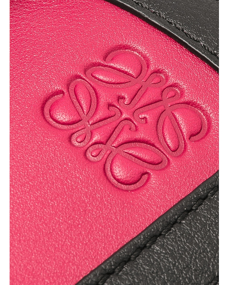Image 8 of Loewe Puzzle Graphic Small in Raspberry & Wild Rose