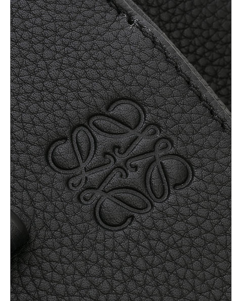 Image 8 of Loewe Gate Small Top Handle in Black