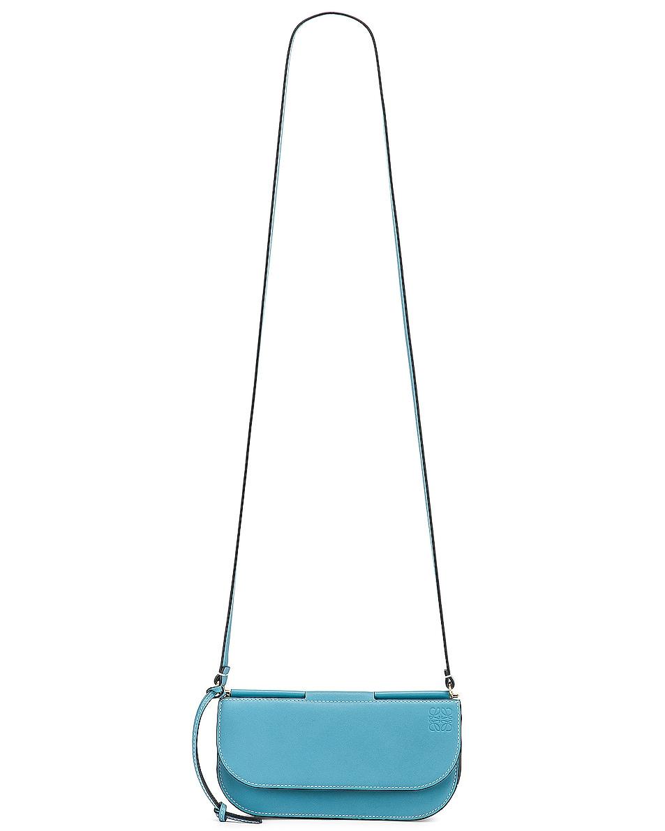 Image 6 of Loewe Gate Pochette in Light Blue