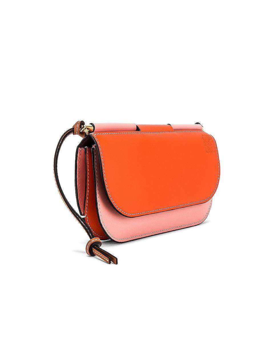 Image 4 of Loewe Gate Pochette in Orange & Blossom