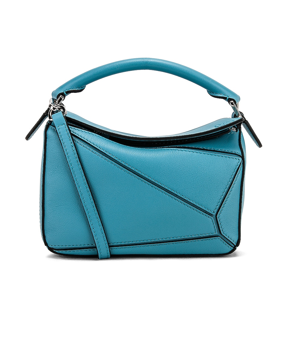 Image 1 of Loewe Puzzle Mini Bag in Light Blue