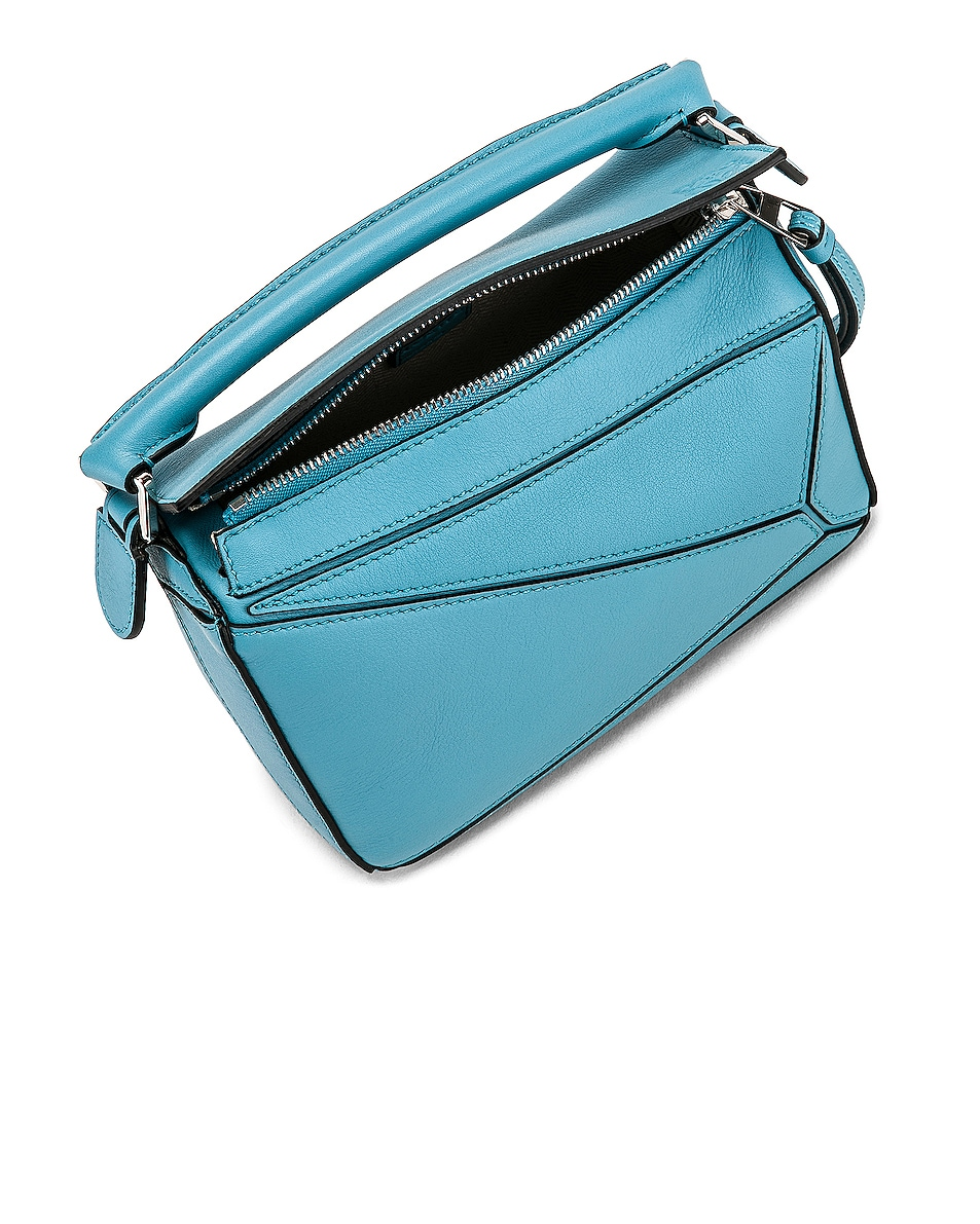 Image 5 of Loewe Puzzle Mini Bag in Light Blue