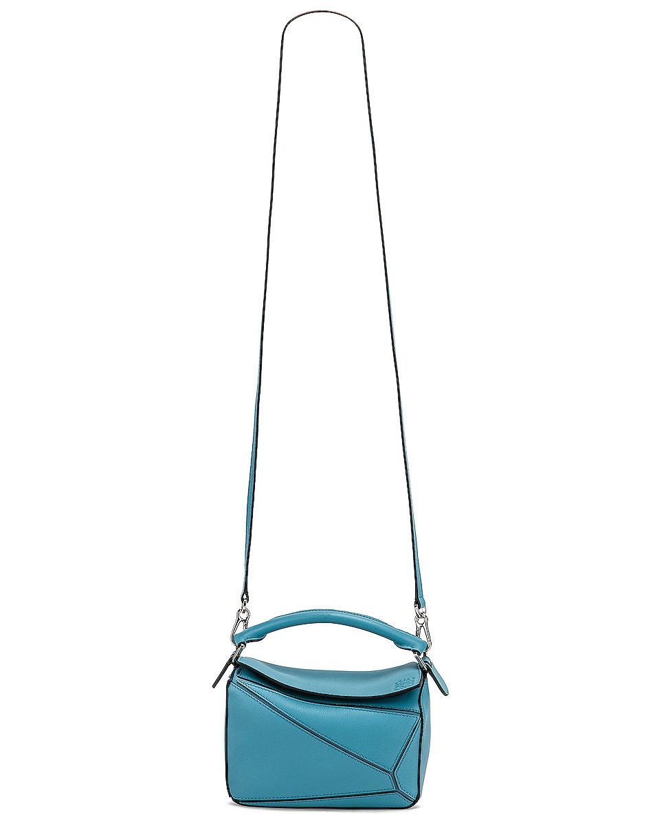 Image 6 of Loewe Puzzle Mini Bag in Light Blue