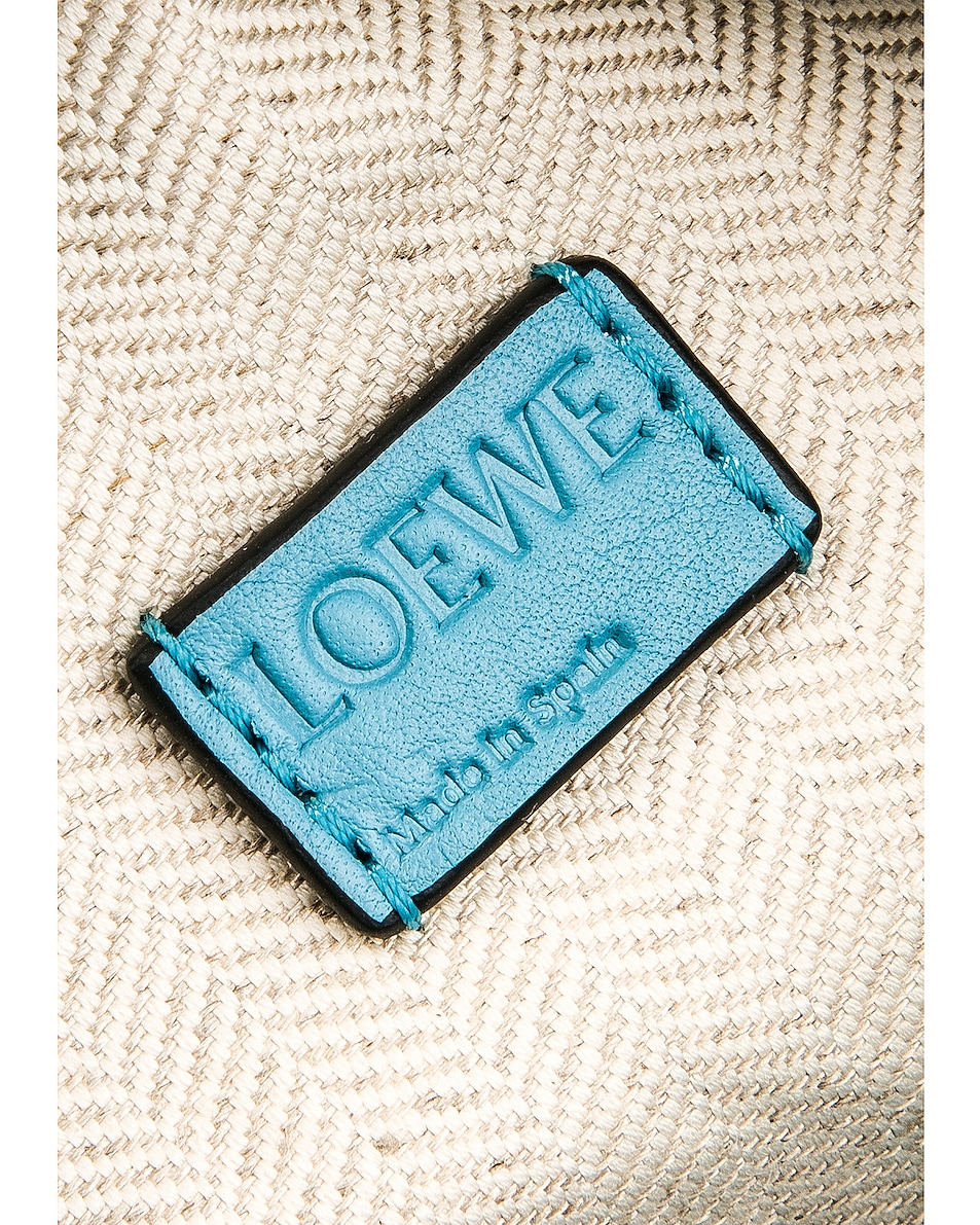 Image 7 of Loewe Puzzle Mini Bag in Light Blue