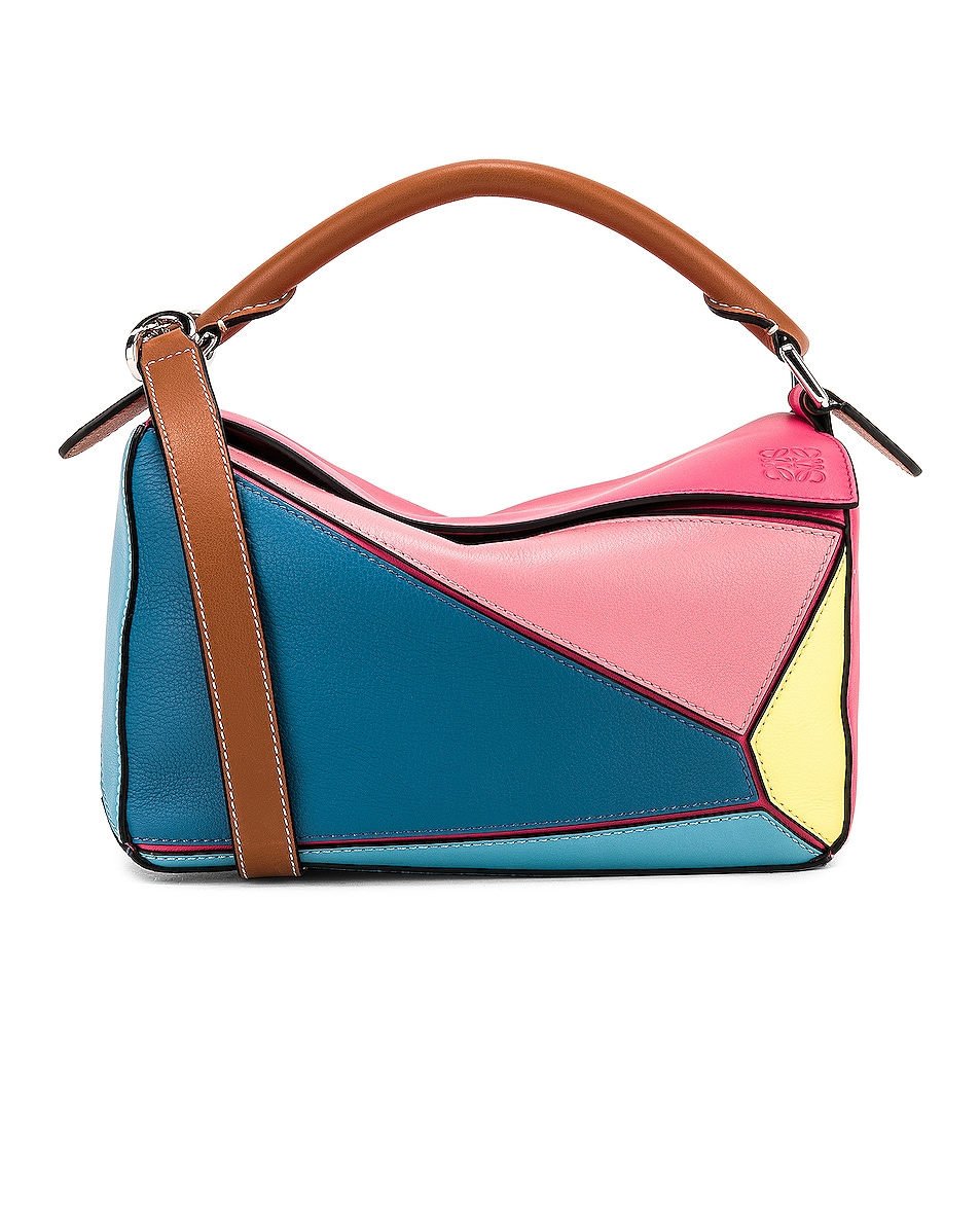 Image 1 of Loewe Puzzle Small Bag in Multicolor