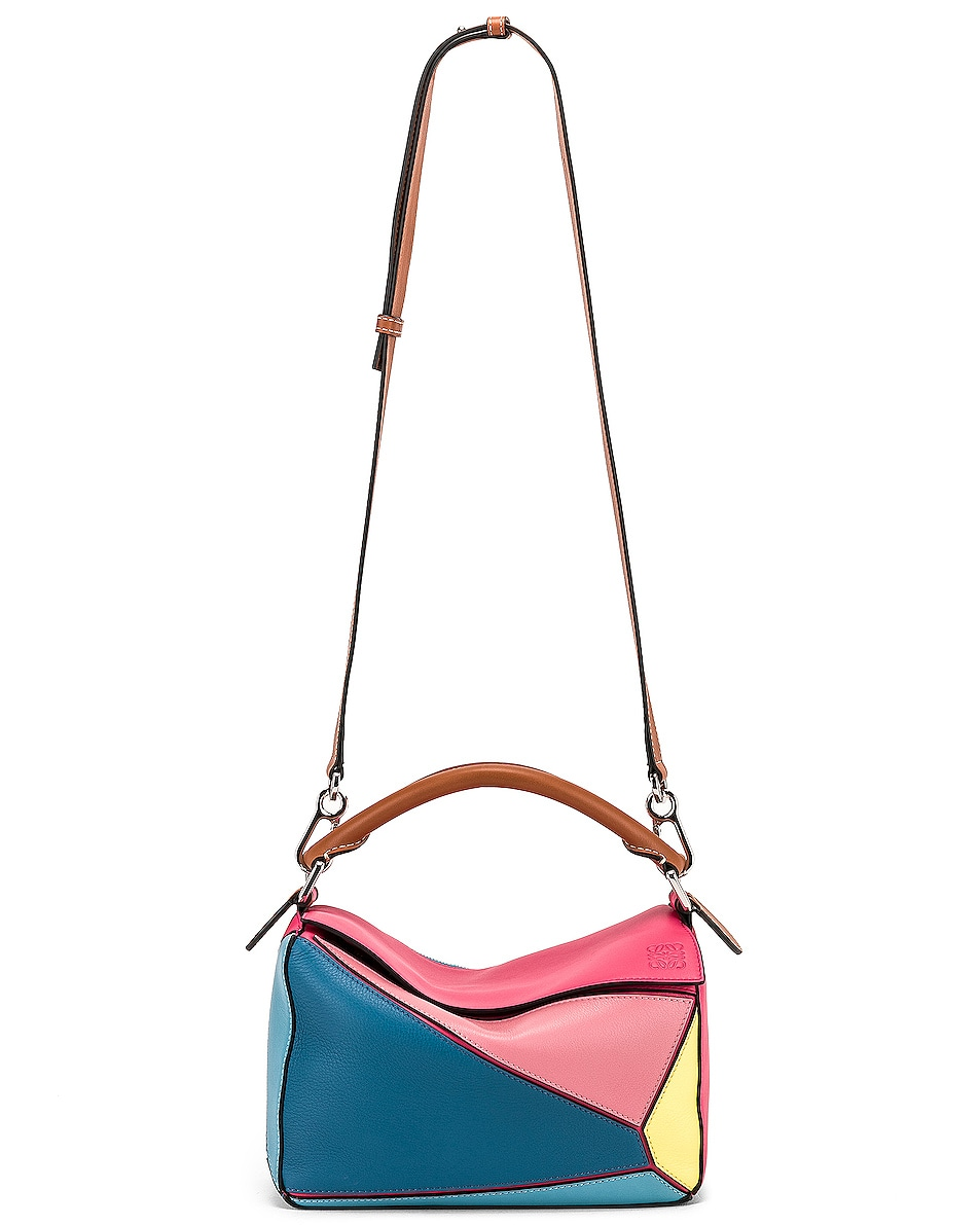 Image 6 of Loewe Puzzle Small Bag in Multicolor