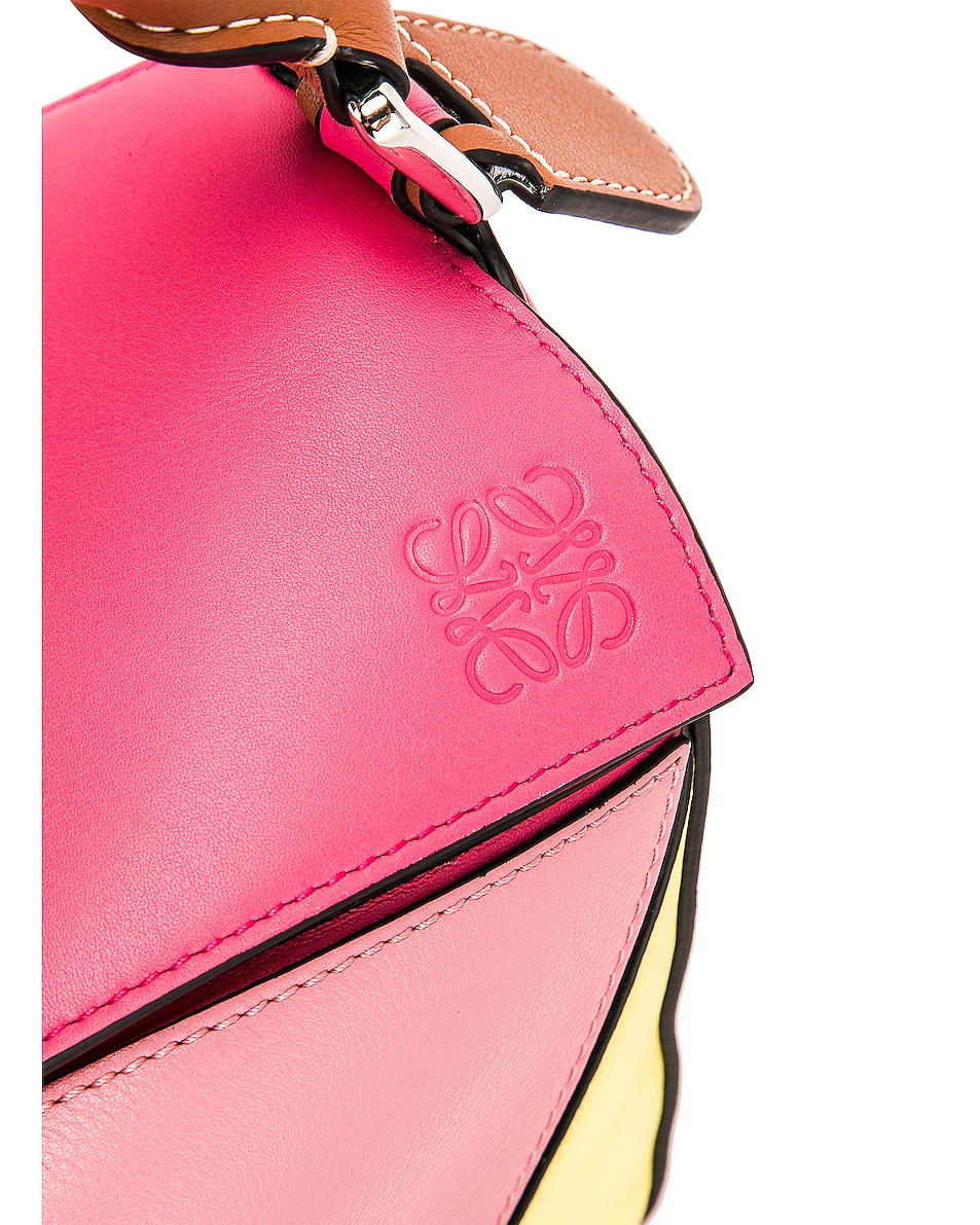 Image 8 of Loewe Puzzle Small Bag in Multicolor