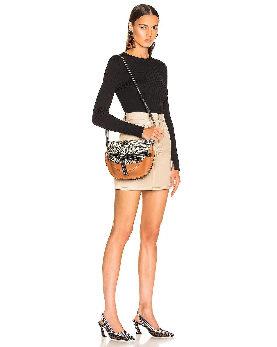 Image 2 of Loewe Gate Small Bag in Tan