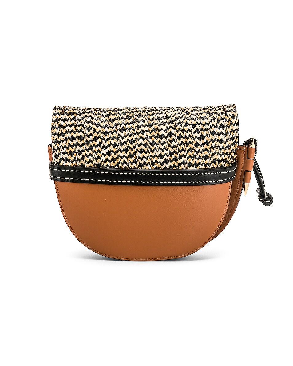 Image 3 of Loewe Gate Small Bag in Tan