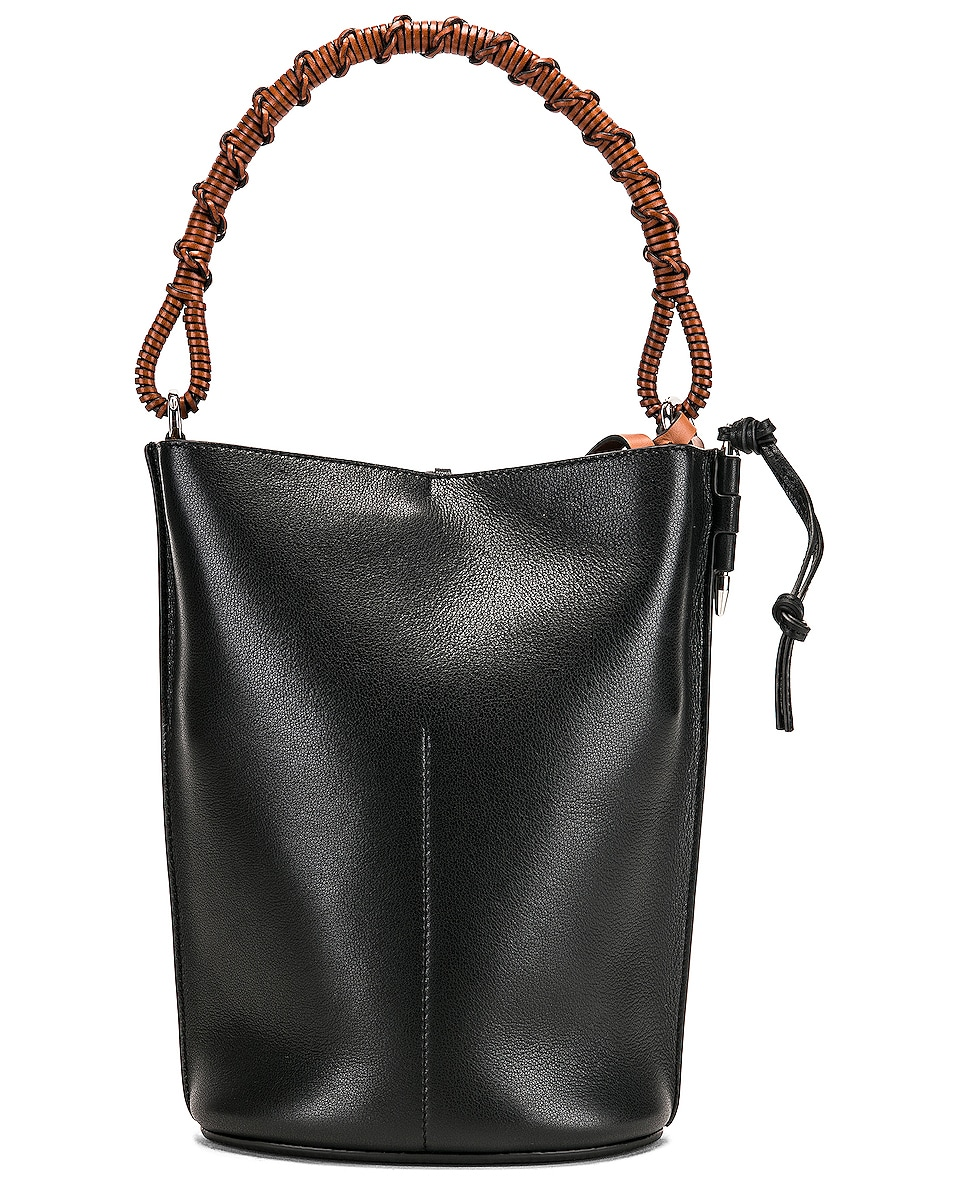Image 3 of Loewe Gate Bucket Bag in Black