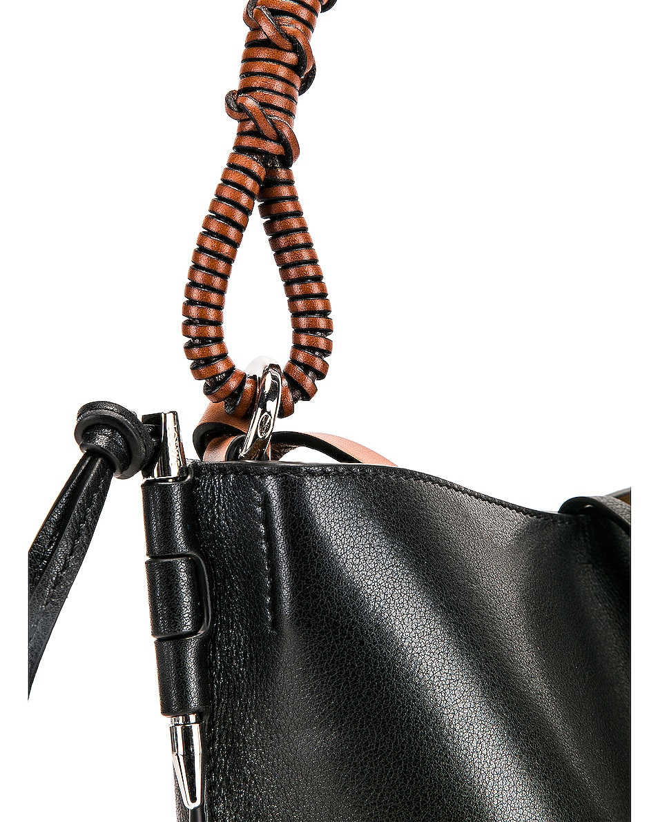 Image 8 of Loewe Gate Bucket Bag in Black