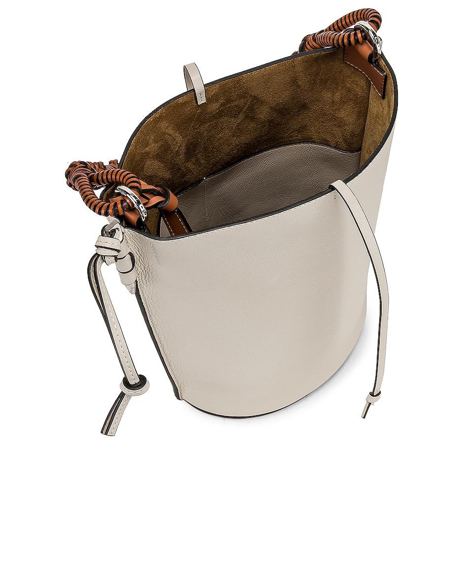 Image 5 of Loewe Gate Bucket Bag in Soft White