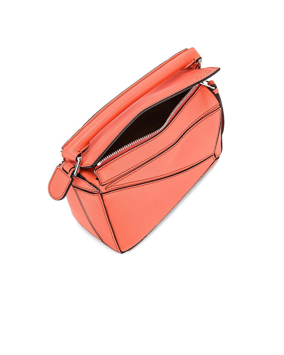 Image 5 of Loewe Puzzle Mini Bag in Bright Peach