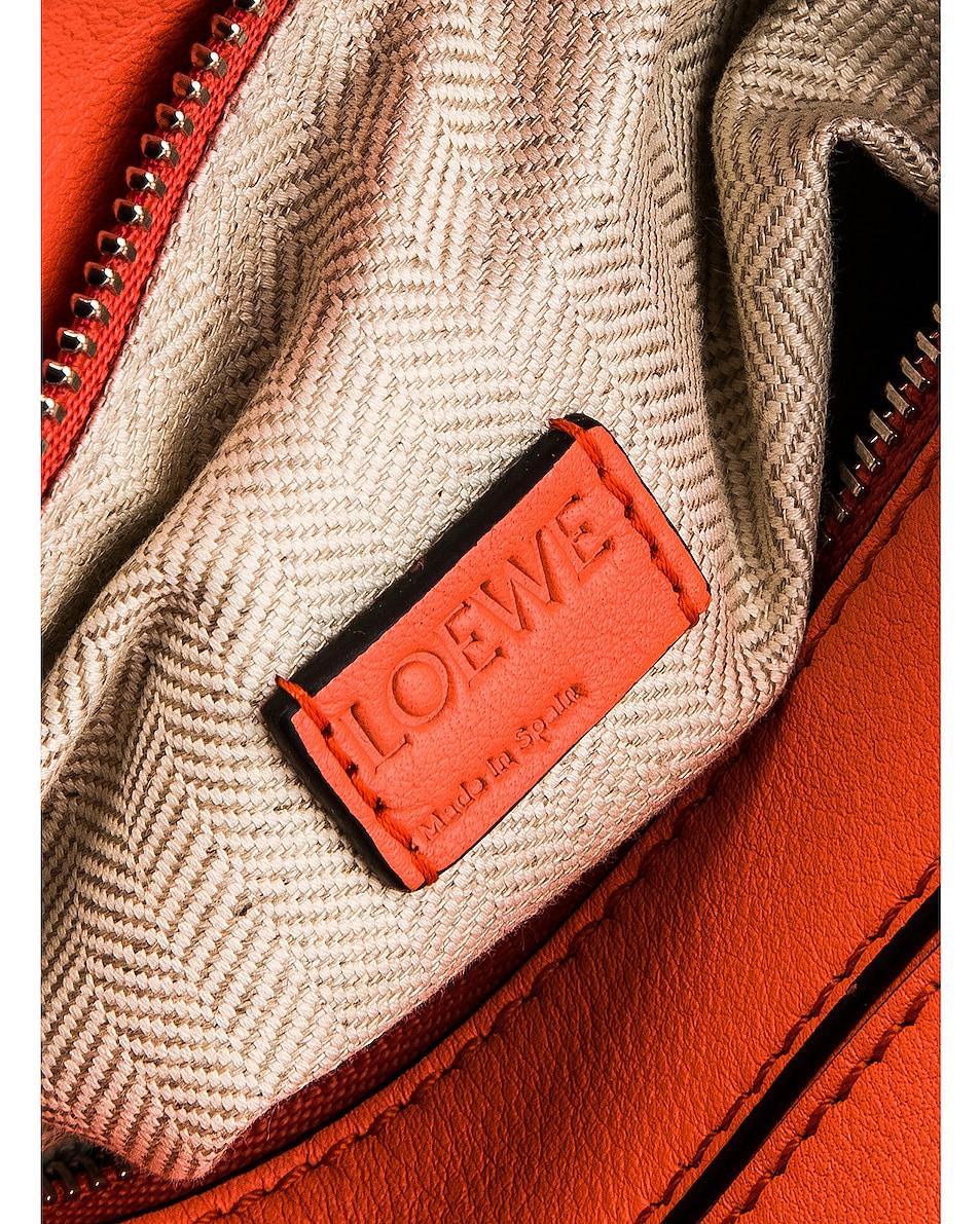 Image 7 of Loewe Puzzle Mini Bag in Bright Peach