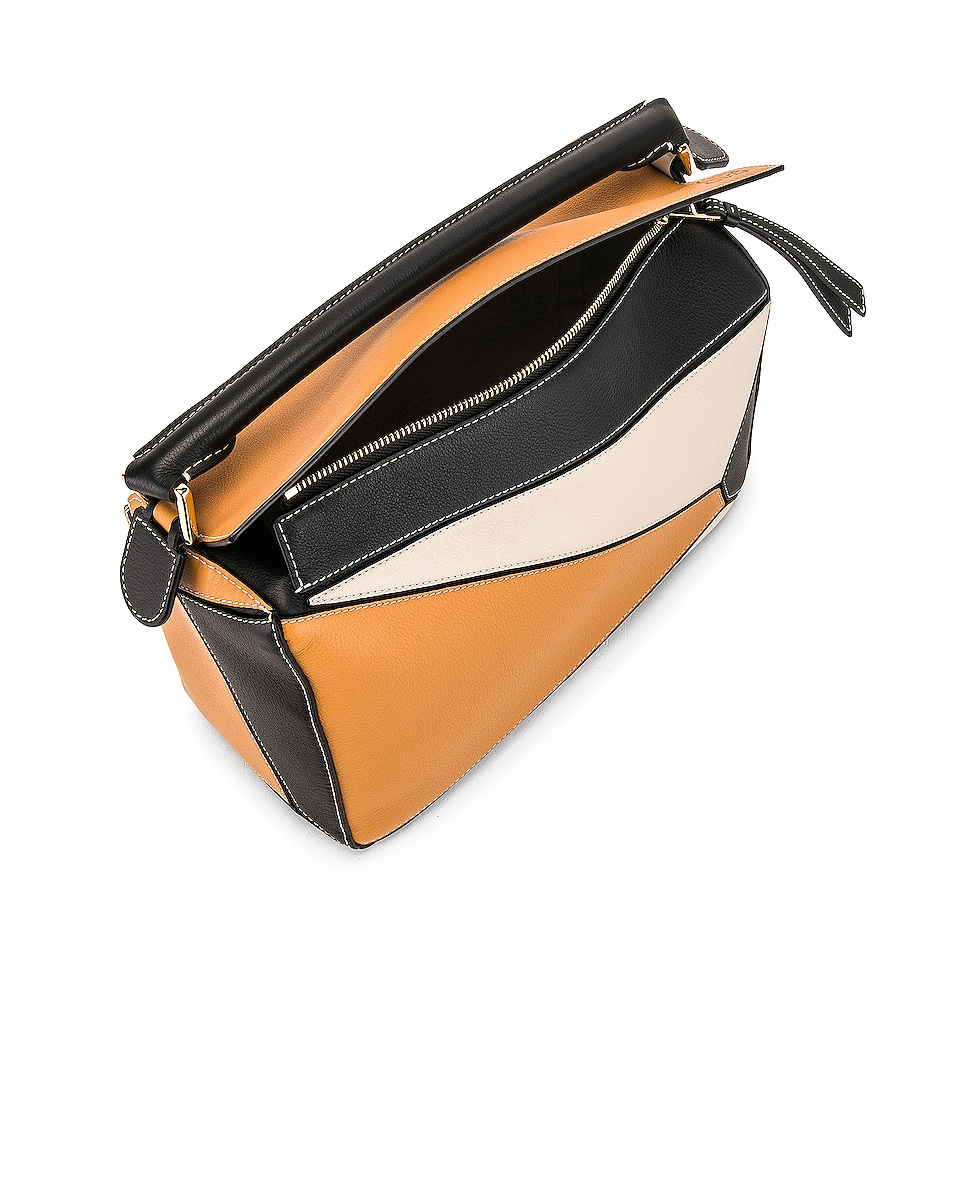 Image 5 of Loewe Puzzle Bag in Amber & Light Oat