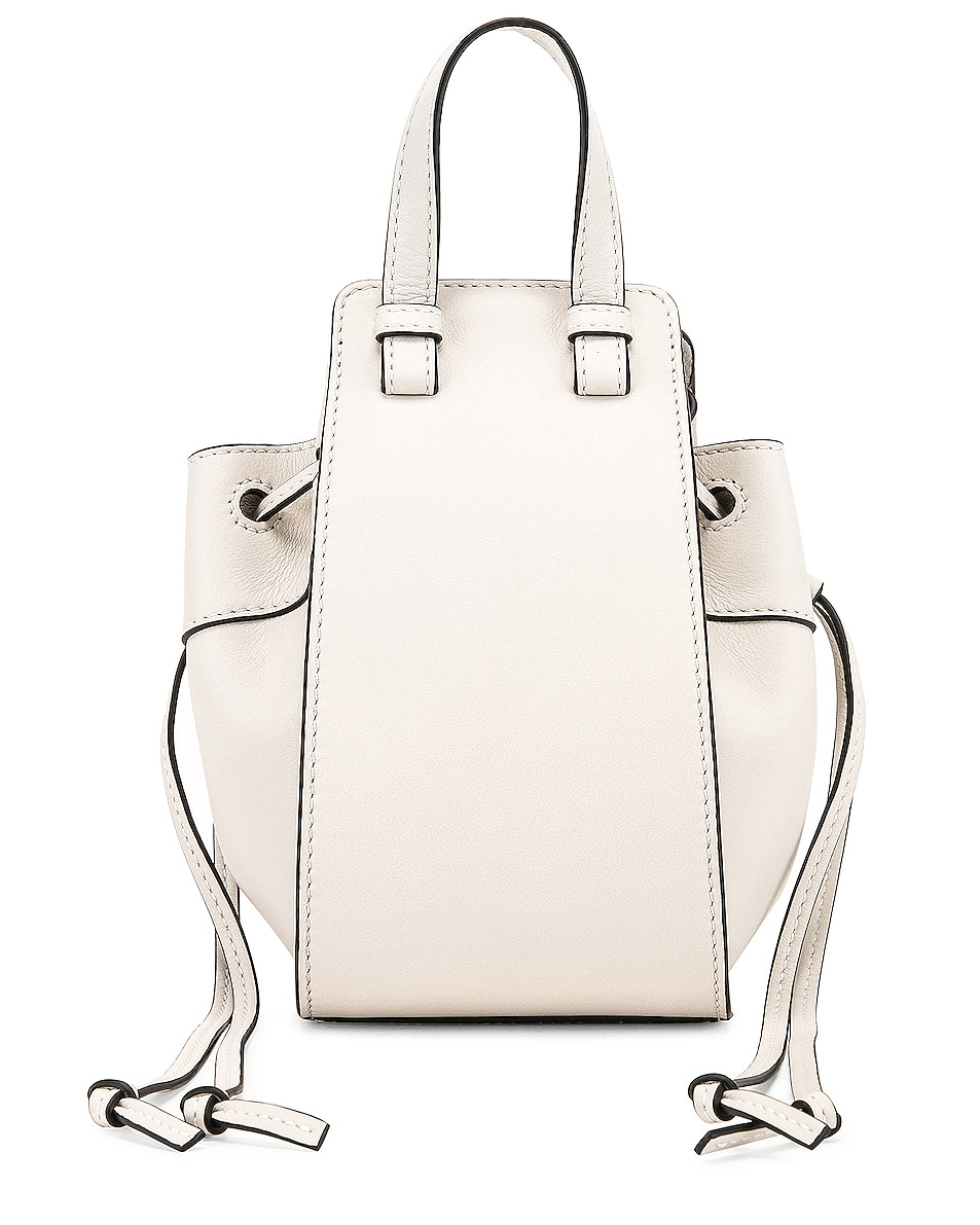 Image 3 of Loewe Hammock DW Mini Bag in Soft White