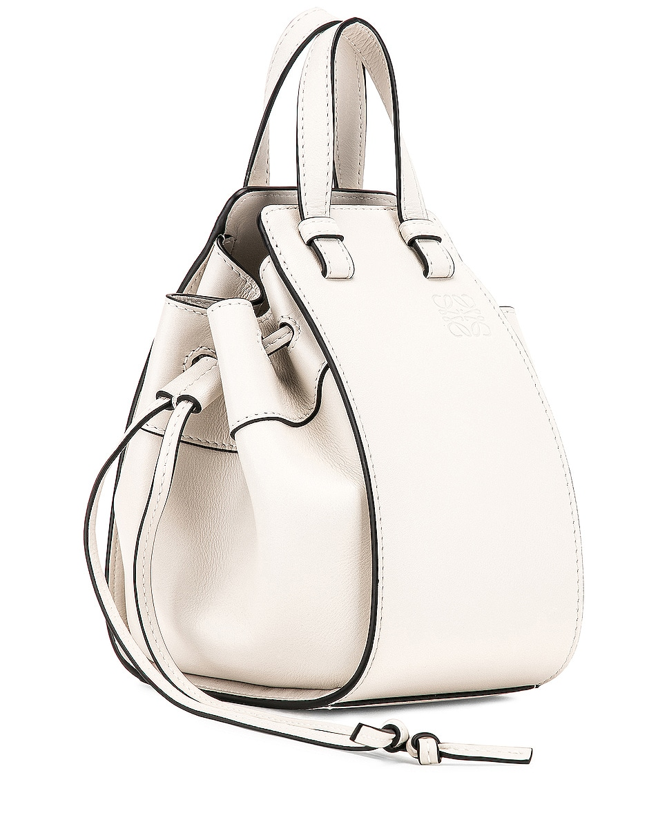 Image 4 of Loewe Hammock DW Mini Bag in Soft White