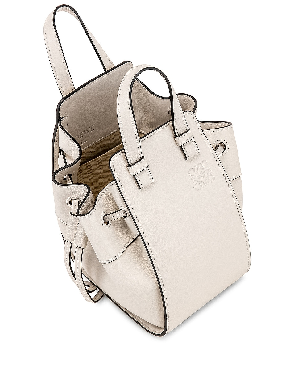 Image 5 of Loewe Hammock DW Mini Bag in Soft White