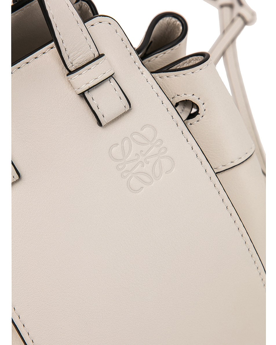 Image 8 of Loewe Hammock DW Mini Bag in Soft White